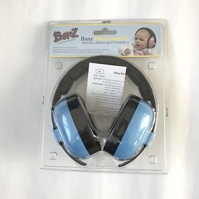 Outdoor Safety Baby Banz EarBanZ Infant Hearing Protection, Blue