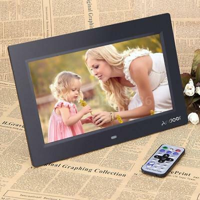 """Andoer 10"""" TFT LCD HD Digital Photo Picture Frame MP4 Player+Remote Gift O6V3"""