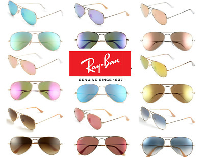 NEW ray ban sunglasses RB3025 Aviator Gold Frame  - All Lens Colors BEST PRICE