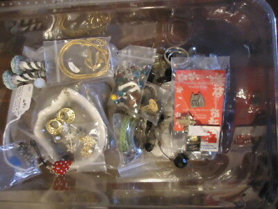 Vintage Lot of Jewelry - for Repair or Parts Over 2 Pounds