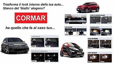 Kit Full Led Interni Fiat 500X Full Kit Tutte Le Luci Interne Bagagliaio