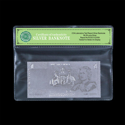 WR Old Commonwealth of Australia 1 One Pound Note 999 Silver Banknote Collection