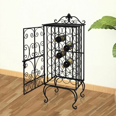 Metal Wine Cabinet Rack