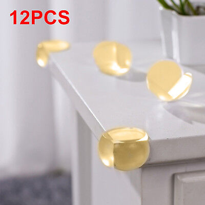 12X Round Soft Corner Protectors Baby & Child Furniture Protection