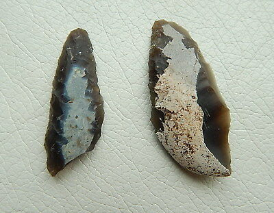 Neolithic Stone Biface. Trypillian culture. Ukraine Flint Artifact.