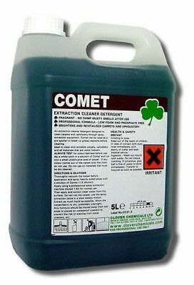 Clover Comet Carpet Cleaner, Extraction Cleaning (2x5ltr) - 306