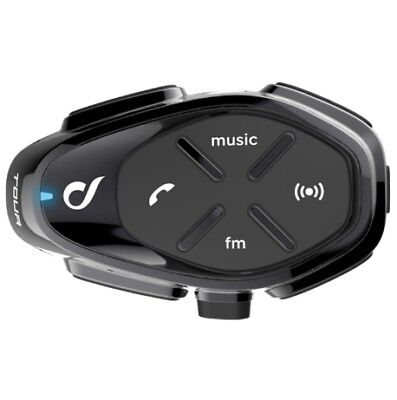 New Interphone Tour Single Unit Bluetooth Motorcycle Headset Radio Sat Nav Phone