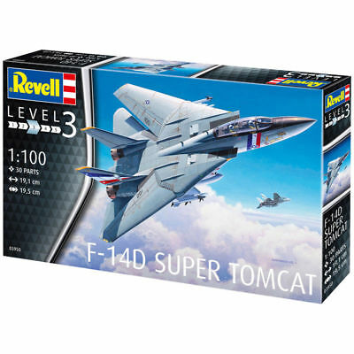 Revell F-14D Super Tomcat (Scale 1:100) Model Kit 03950 FIRST CLASS POSTAGE