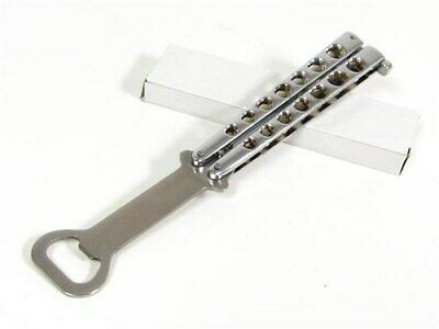 Bottle Opener Balisong Butterfly Practice Training Knife Trainer