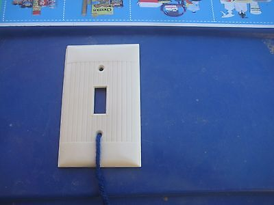 Vintage * SIERRA ELECTRIC * 1-Gang Toggle Switch Wall Plate Lot of 1