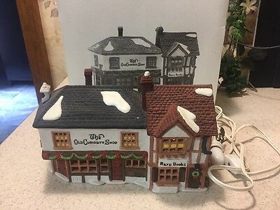 Dept 56 Dickens Village The Old Curiosity Shop Lighted Building