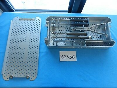 St. Francis Surgical Orthopedic Spine Spinal X-Stop Instrument Set W/ Case