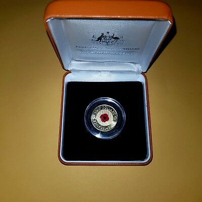 2012 $2  Remembrance UNC Red Poppy  Ex Chubb Roll in RED RAM COIN BOX 🇦🇺