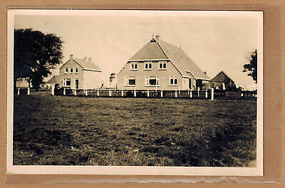 Carte Photo vintage card RPPC belles maisons demeures pavillon kh0100