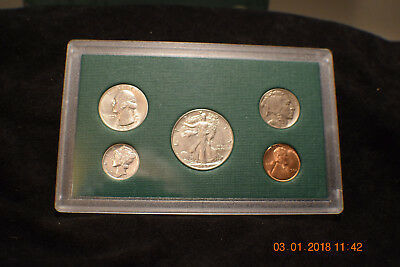 "1937-P (5) Coin Mint Year Set  ""uncirculated""...........#1531"