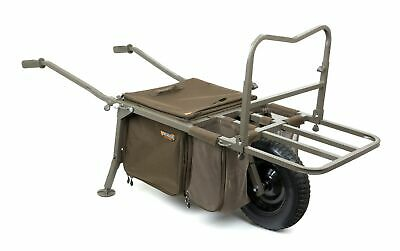 Fox Explorer Barrow Deluxe Trolley Caddy Carp Transportkarre Transportwagen NEW