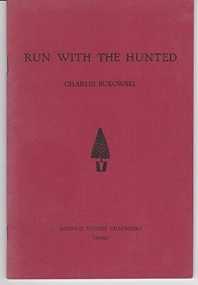 RARE, Very Early (1962) First Edition Charles Bukowski Book