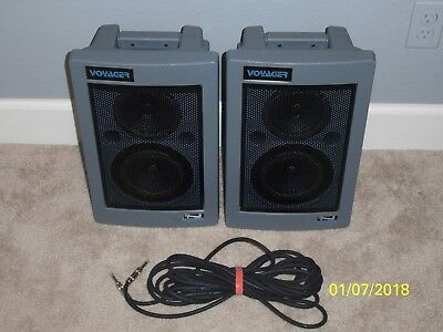 Anchor Voyager PB-3000W and PB-3001 Speaker Set PA Set