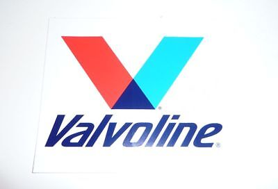 Large VALVOLINE Decal 5 inches NEW
