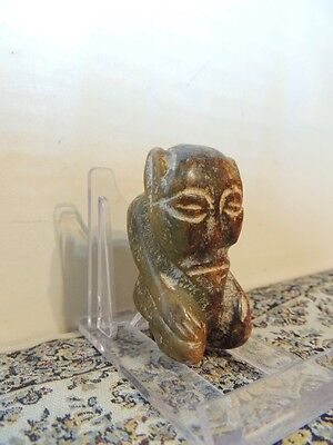 Antique  Mythological stone figure  pendant ,idol,god ,alien