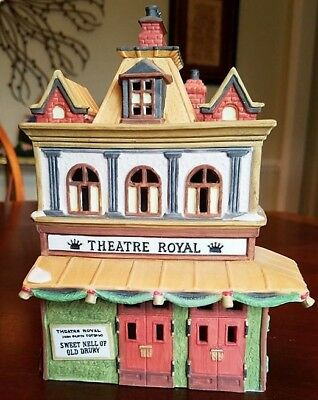 "DEPT. 56 DICKENS VILLAGE ""THEATRE ROYAL"" #55840 - Excellent Condition"