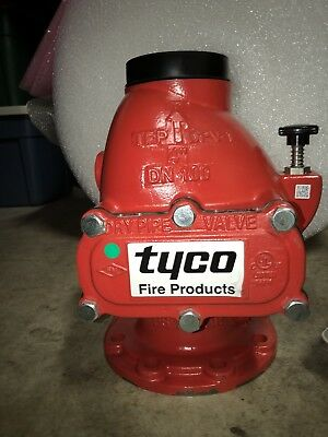 "NEW 4"" Flanged Grooved FxG Tyco Fire Sprinkler System Dry Pipe Valve DPV-1"