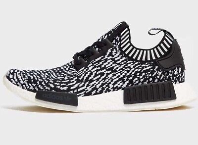 Adidas Nmd R1 Sashiko Black White Primeknit Boost Shoes Us10.5 Deadstock New f96ace841