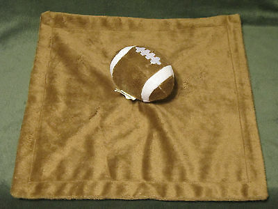 Koala Baby Football Security Blanket Lovey Brown White Sports Theme Babies R us