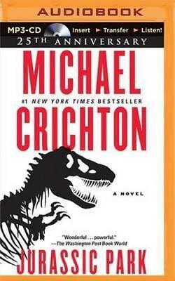 NEW Jurassic Park By Michael Crichton CD in MP3 Format Free Shipping