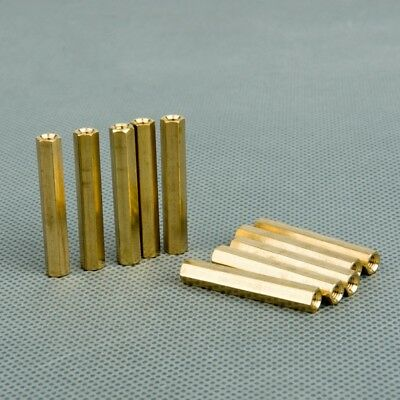 Female-Female Hex Brass Spacer Standoff Riser  M3*4mm-60mm Mainboard CCTV Screw
