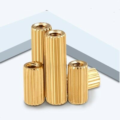 Female-Female Knurled Brass Standoff Spacer Riser  M2*3-25mm PC Case CCTV Screws