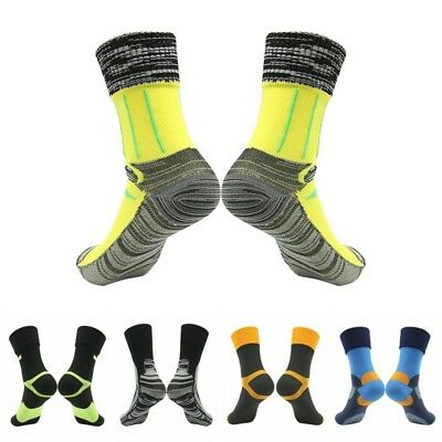Men Women Waterproof Socks Breathable Sports Hiking Cycling Anti Skid Warm Socks