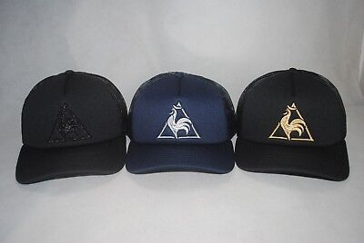 df10bb34b1 New Le Coq Sportif Men's Mesh Trucker Hat Feathers Embroidery Snapback Hat  OSFA