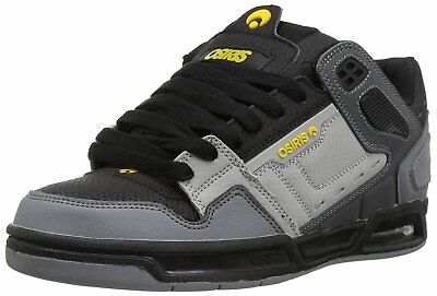 Scarpe Skate Osiris Peril Charcoal Black Yellow 42 42.5 44 Ultimi Rimasti!