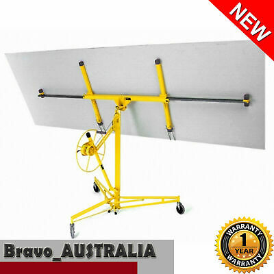 16ft Drywall Panel Lifter Plaster Board sheet Gyprock Plasterboard Hoist Lift