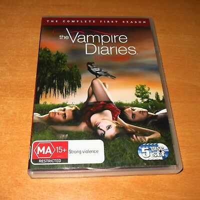 The Vampire Diaries : The Complete First Season 1 ( Dvd , 5 Disc Set Region 4 )