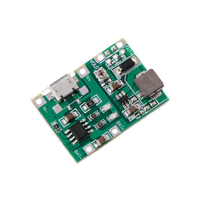Battery Charger Board DC-DC Step-Up Boost Module Lithium Li-ion 18650 3.7V 4.2V