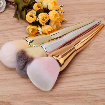 Pro Kabuki Face Makeup Blush Powder Contour Cosmetic Large Brush Foundation Tool