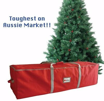 Christmas TREE STORAGE BAG  with end grips & TOUGH CANVAS like fabric!