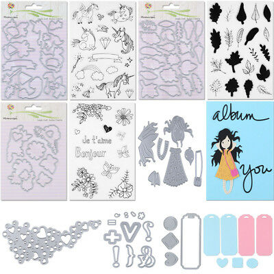 Many Types Metal Cutting Dies Stencil Scrapbook Paper Card Craft Embossing DIY