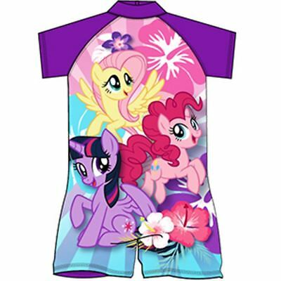 my little pony Swimsuit Surf Suit Swimming Costume Childrens Swimwear Age 1-10