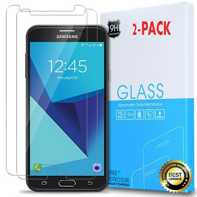 For Galaxy J7 2017 J7 Perx / J7 V  J7 Sky Pro Tempered Glass Screen Protector Aa