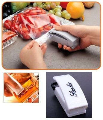 Mini Portable Electric Sealing Machine Heat Super Sealer Closer Heating Kitchen