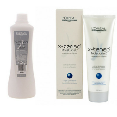 L'Oréal X-Tenso Cream 1000 ml and Smoothing Cream Sensitive Hair 250ml