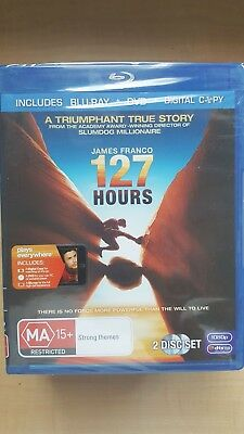 127 Hours [ BluRay + DVD Combo ] NEW & SEALED, Region B, FREE Next Day Post