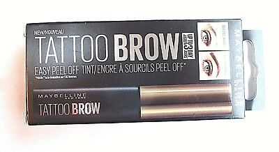 Original Maybelline Fashion Tattoo Easy Peel Tint Light Brown Brand new boxed