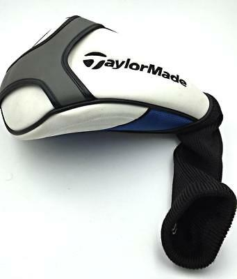 TaylorMade Universal Driver Headcover - White / Blue & Grey