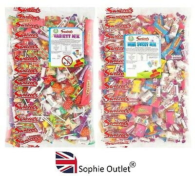 MINI MIXED SWEETS Party Bag Pinata Filler Wedding Christmas Stocking Filler UK