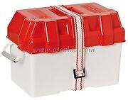 Leisure Battery Box Red With Straps Caravan/Camper/Boat/Motorhome BATB100RD