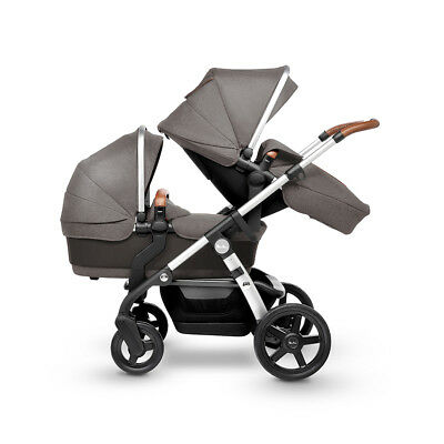 Silver Cross Sable Wave Pram Pushchair Single/Double Tandem New Factory Second